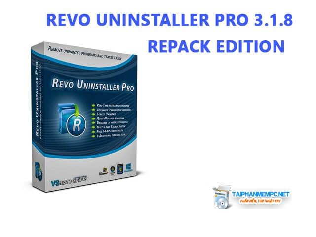 Revo Uninstaller Pro 3.1.9 Silent – Gỡ bỏ ứng dụng cài đặt tốt nhất
