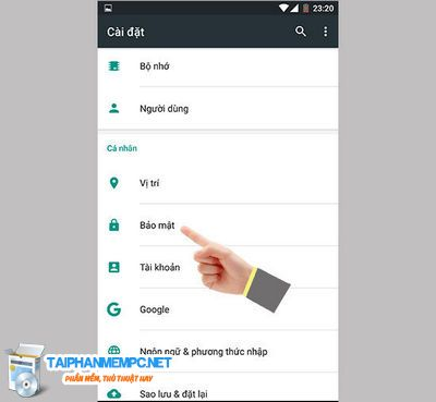 how to turn on unknown sources android