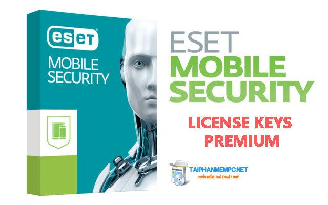 ESET Mobile Security 2017 + License Keys Premium (Update liên tục)