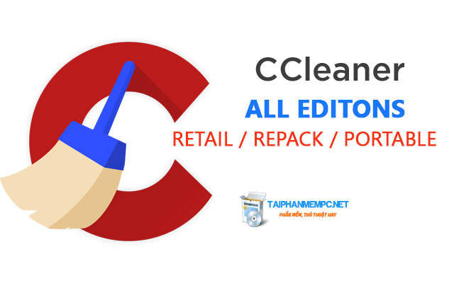Tải CCleaner 5.31.6105 All Editions (Retails + Rep4ck + Portable)