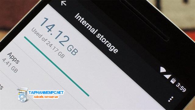 Mẹo nhỏ tăng bộ nhớ trống điện thoại Android hiệu quả