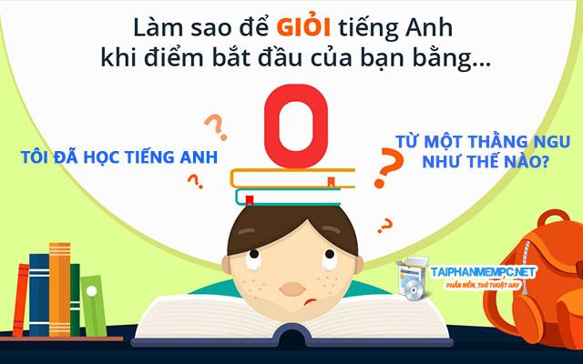 toi da hoc tieng anh tu mot thang ngu nhu the nao?