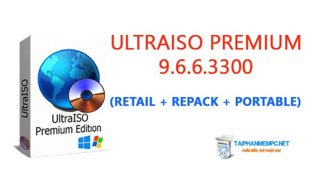 UltraISO Premium 9.6.6.3300 (Retail + Rep4ck + Portable)