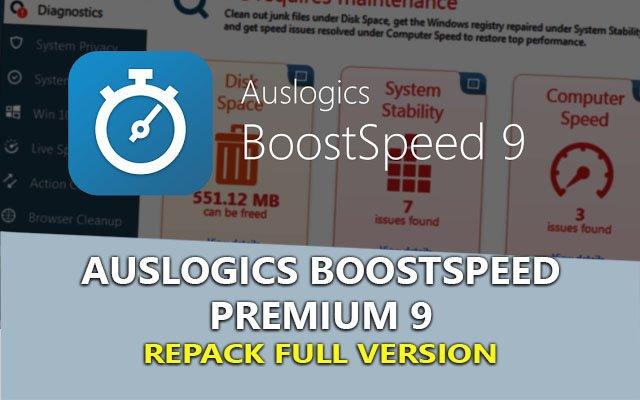 AusLogics BoostSpeed Premium 9.1.4.0 – Tối ưu dọn dẹp máy tính