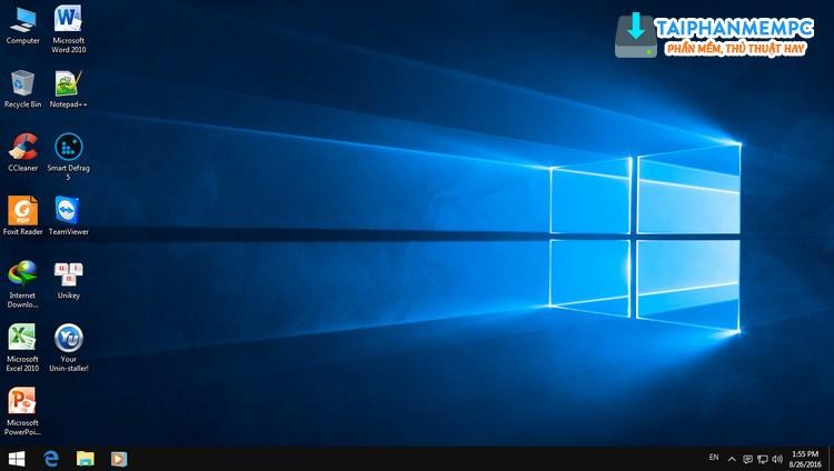 ghost windows 7 32, 64bit mod giao dien windows 10 full soft (mbr + uefi) 2