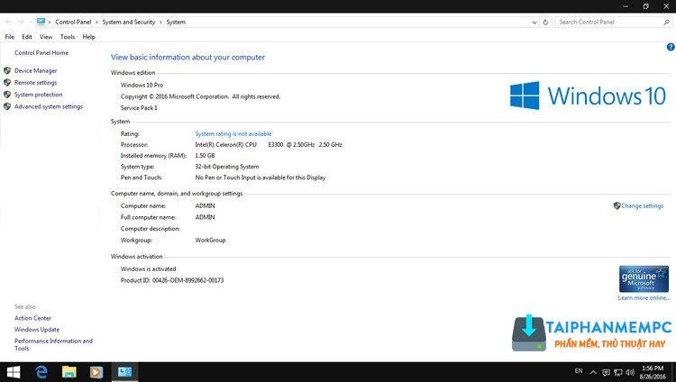 ghost windows 7 32, 64bit mod giao dien windows 10 full soft (mbr + uefi) 4