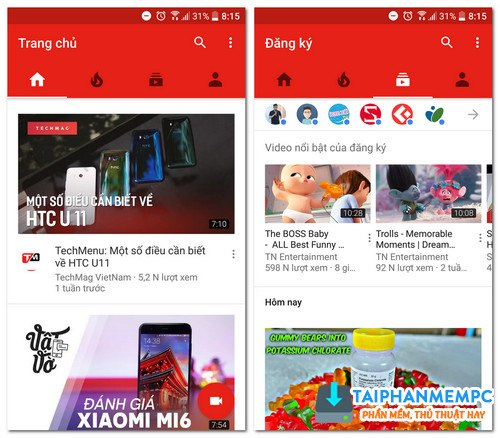 tai ogyoutube - ung dung tai video youtube tot nhat tren android 1