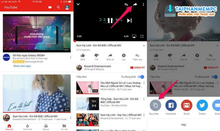 thu thuat tai video youtube ve iphone, ipad khong can jailbreak may 2
