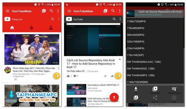 tubemate 2.3.6 build 705 mod adfree - tai video youtube tot nhat tren android 1