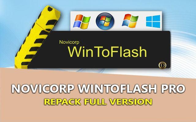WinToFlash PRO 1.10.0000 – Tạo USB Boot cài Windows chuyên nghiệp