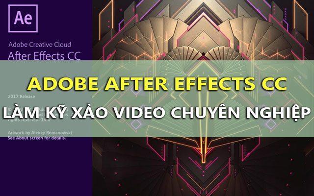 After Effects CC 2017 v14.2.1.34 Final RePack – Làm kỹ xảo video tốt nhất