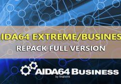 AIDA64 Extreme/Business v6.20.5300 – Xem thông tin máy tính