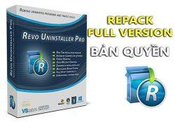 Revo Uninstaller Pro 3.2.1 F.U.L.L – Gỡ bỏ ứng dụng cài đặt tốt nhất