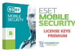 ESET Mobile Security 2018 + License Keys Premium (Update liên tục)
