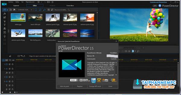 powerdirector ultimate 15 repack - chinh sua video chuyen nghiep 1