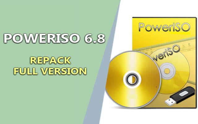PowerISO 6.9 Final Retail + RePack – Tạo ổ đĩa ảo chuyên nghiệp