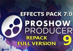 ProShow Producer 9.0.3797 F.U.L.L bản quyền + Gói Effects Pack 7.0