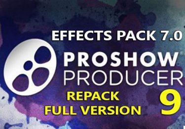 ProShow Producer 9.0.3793 F.U.L.L bản quyền + Gói Effects Pack 7.0