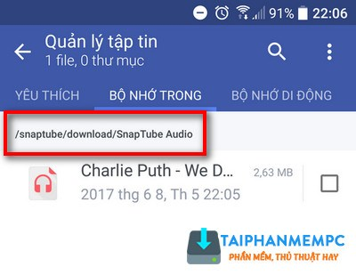 cach tai nhac soundcloud tren dien thoai android thanh cong 4