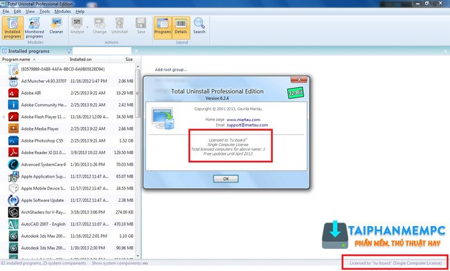 total uninstall pro 6.20.0.470