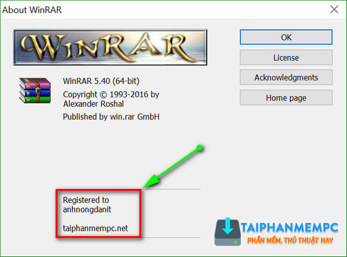 download winrar license key ban quyen