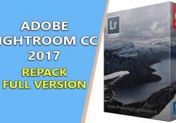 Adobe Lightroom CC 2017 v6.10.1 RePack – Chỉnh sửa, Blend ảnh đẹp