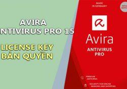Avira Antivirus Pro 15.0.26.48 Final + License Key Bản Quyền