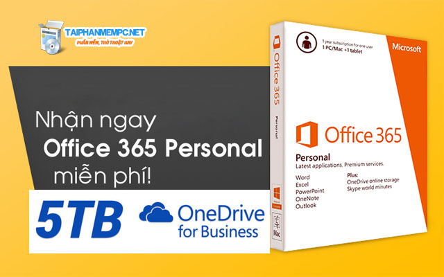 cach nhan mien phi onedrive 5tb va office 365 enterprise 1 nam
