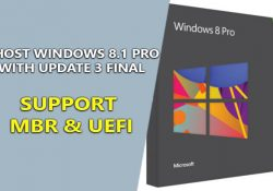 Ghost Windows 8.1 Pro With Update 3 Final – Support MBR & UEFI