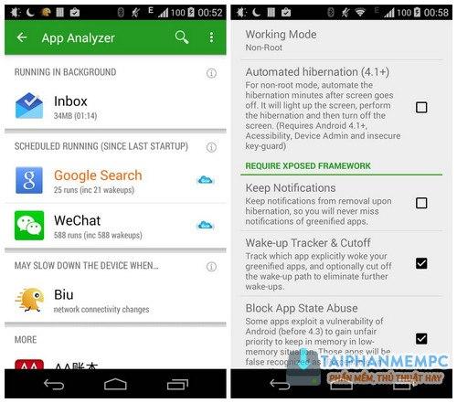 Greenify Donate v4 3 3 Full APK mới nhất - Tắt chạy ngầm trên Android