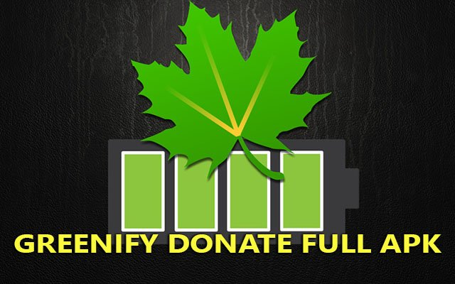 greenify donate full apk