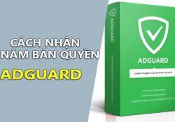 Hướng dẫn nhận key bản quyền Adguard 1 năm miễn phí