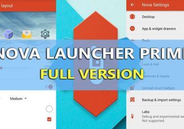 Nova Launcher Prime v6.2.14 APK mới nhất + TeslaUnread