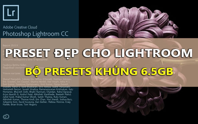 tong hop preset dep cho lightroom - phan 2