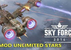 Sky Force 2014 APK Mod Unlimited Stars – Game báy máy bay siêu hay