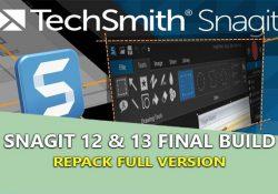 Snagit 13.1.4 Build 8008 bản quyền mới nhất cài đặt kích hoạt tự động