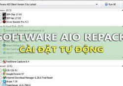Software AIO Repack – Bộ 46 phần mềm kích hoạt tự động với 1 click