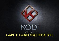 "Sửa lỗi sqlite3.dll trong Kodi – How to fix ""sqlite3.dll"" error in Kodi"