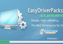 Tải Wandriver Pack 6.6.2016.0815 – Bộ cài Driver tự động cập nhập 2017