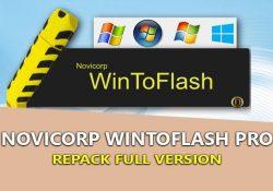 WinToFlash PRO 1.13.0000 bản quyền – Tạo USB Boot cài Windows