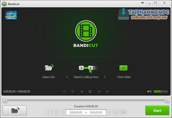 bandicut - cat video chuyen nghiep 1