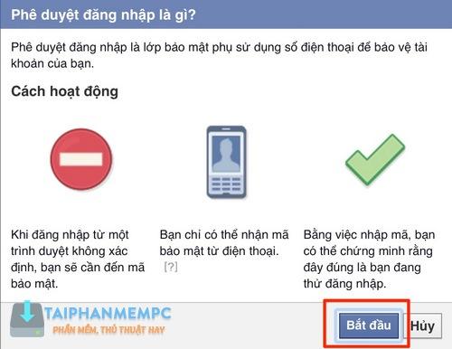 bao mat 2 lop facebook qua so dien thoai, chong bi hack fb 4