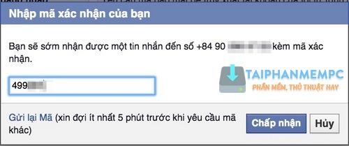 bao mat 2 lop facebook qua so dien thoai, chong bi hack fb 6