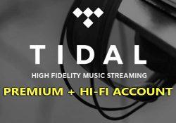 Chia sẻ tài khoản TIDAL Premium, TIDAL Hi-fi [Cập nhật liên tục]