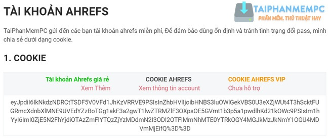 cach dang nhap tai khoan ahrefs bang cookie 1