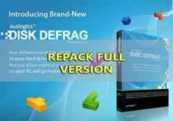 AusLogics Disk Defrag Pro 4.9.20 F.U.L.L Final – Chống phân mảnh HDD