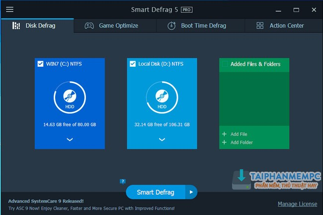 download iobit smart defrag pro 5