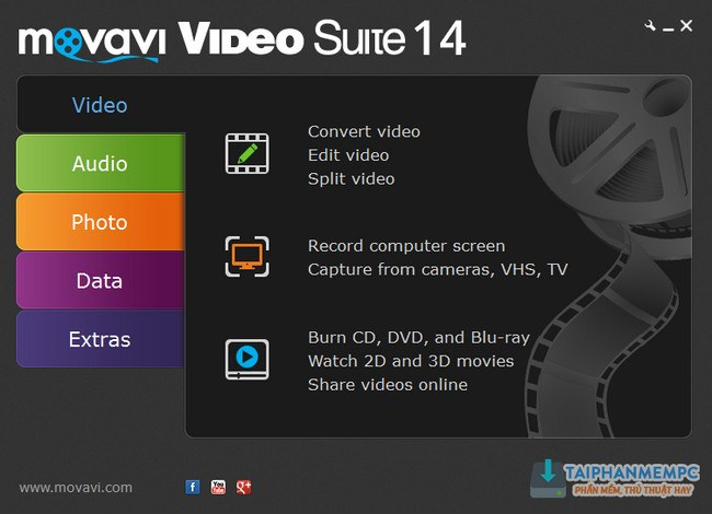 Download Movavi Video Editor 14 Plus