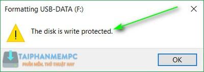 sua loi write protected 2