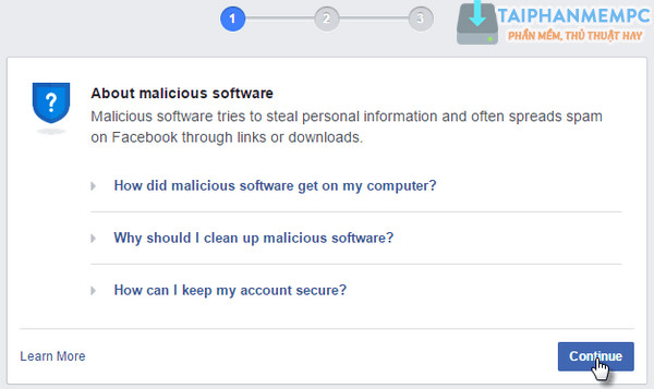 meo vuot facebook bat quet virus